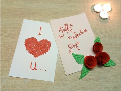 Diy simple and easy valentine cards 2018