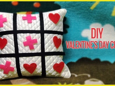 DIY   Valentine's Day Crafts For Kids   Tic Tac Toe