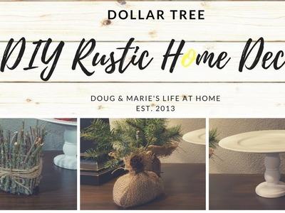 DOLLAR TREE FARMHOUSE DECOR DIY [Doug&Marie'sLife At Home]