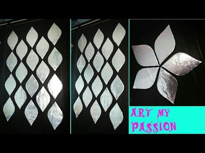 Foil wall art, foil DIY wall art.wall hanging.wall decor.diy wall art,paper craft,art my passion 36