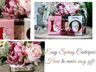 How to| DIY Easy Beautiful Spring Centerpiece????| (Bonus) Gift ideas for Mother's day???? + Tips