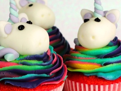 How To Make Adorable Unicorn Cupcakes and More Yummy Recipes by Hooplakidz How To
