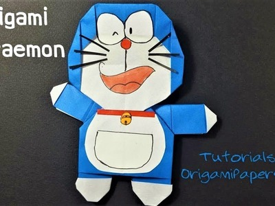 How To Make An Origami DIY  DORAEMON ???? Tutorial By OrigamiPaperCraft
