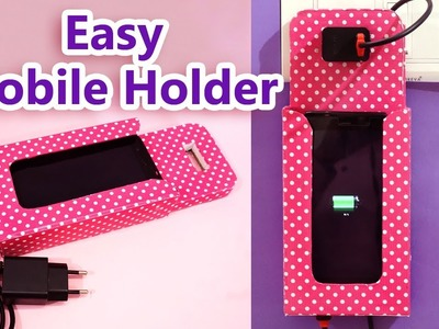 How to Make Mobile Stand (Mobile Holder) | Easy DIY Best Out of Waste Craft Idea | StylEnrich