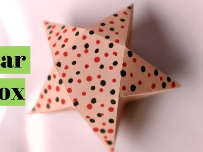 How To Make Star Gift Box With Paper