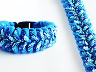 How to Make the Reflections Paracord Bracelet Tutorial | @lakebrosparacord