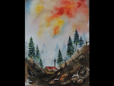 How to Make water colour painting by dvarts