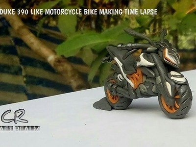 KTM Duke 390 Like Motorcycle Bike Making Video Time Lapse -#CRAFT REALM STUDIOS