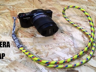 MAKE A SIMPLE ROPE CAMERA STRAP