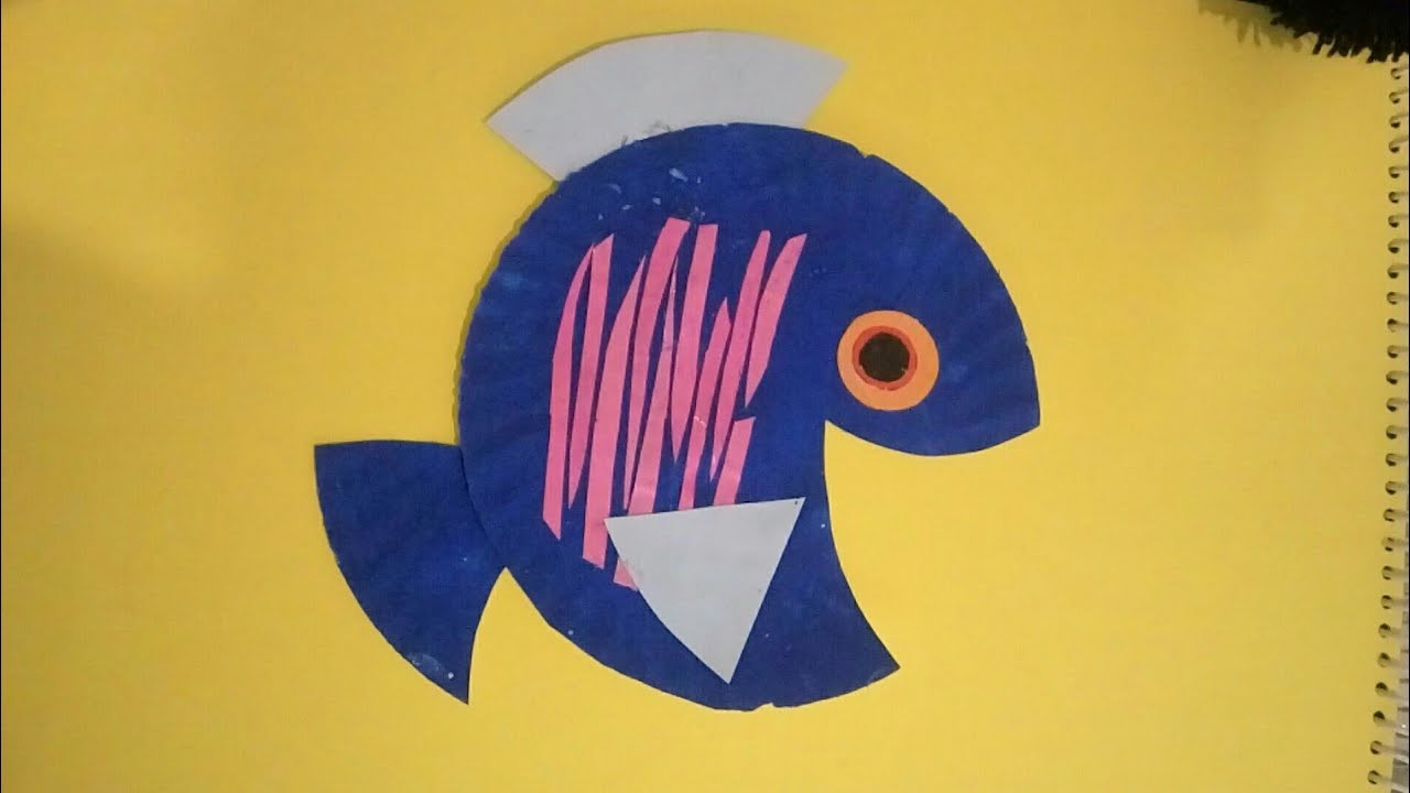 Make Fish From Paper Plate Craft