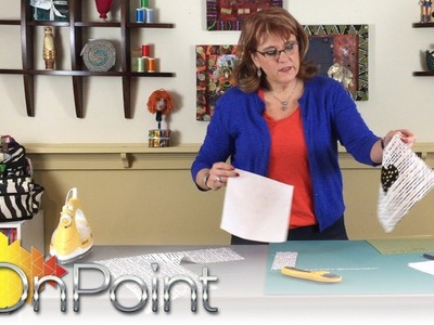OnPoint TV: Ask Nancy - How to use Freezer Paper in quilt making
