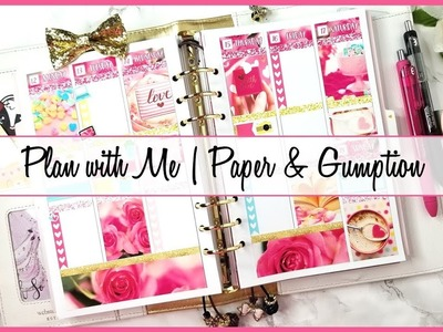 Plan with Me | feat. Paper & Gumption (Webster A5 Vertical)