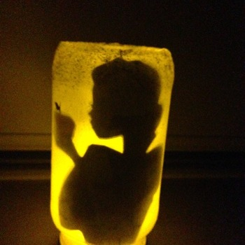 Snow White Disney fairy jar/decorative light /nightlight