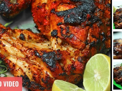Tandoori Chicken | How To Make Chicken Tandoori | Tandoori Cooking