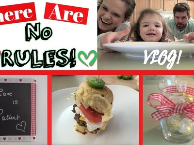 There Are NO RULES! ????   VLOG!   Valentine's Day DIY!❤️