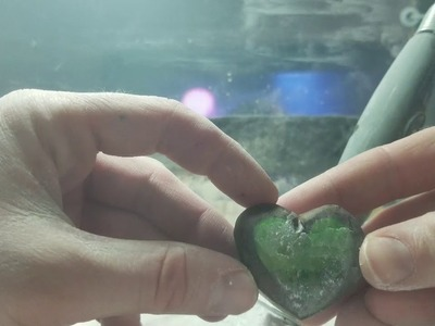 Tutorial how to carve and polish Fluorite Heart with Dremel *lots of details and instruction* asmr