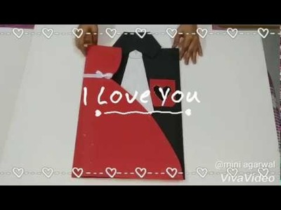 Valentine's Day Special Card for Couples| DIY Easy Mini Crafts