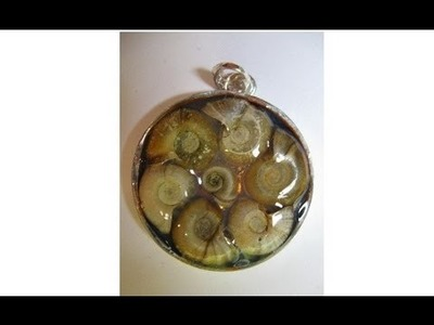 3 Dimensional Pendants with Snail Shells  Crafting with Nature
