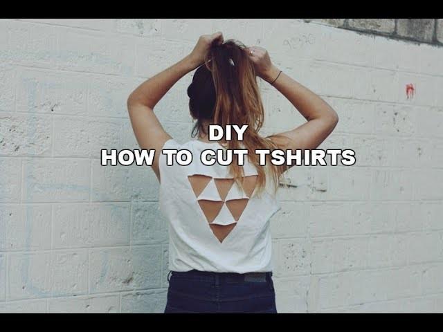 3 Diy Tshirt Cutting Ideas