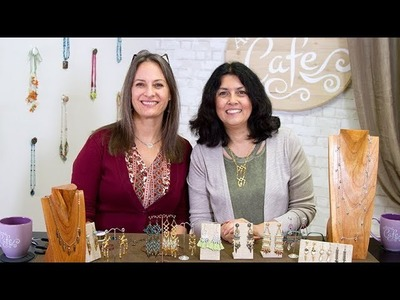 Artbeads Cafe - Make a Statement from TierraCast with Cynthia Kimura and Tracy Gonzales