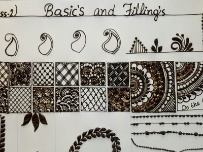 Basics and filling | (class 2 - 5) | classes for beginners.
