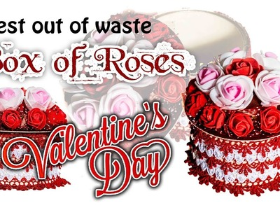 ❤️Box of Roses???? | Chocolate Box???? | Ring Box???? | Best out of waste???? | Waste Tape roll Box????