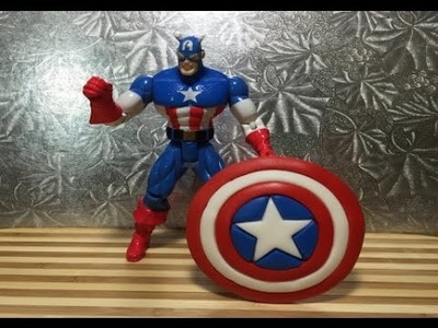 Captain America Shield Cake Topper (How To)