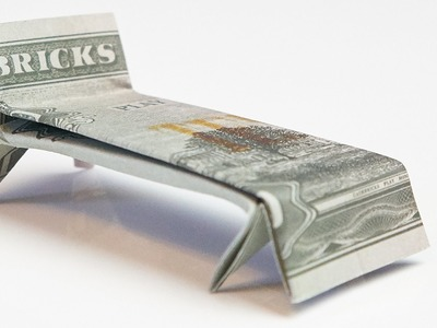CASH GIFT idea: Crafting a BED out of money