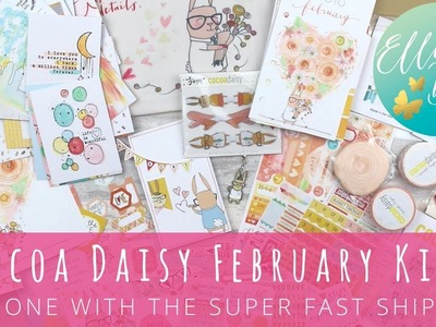 Cocoa Daisy February Unboxing - the one with the super fast shipping!