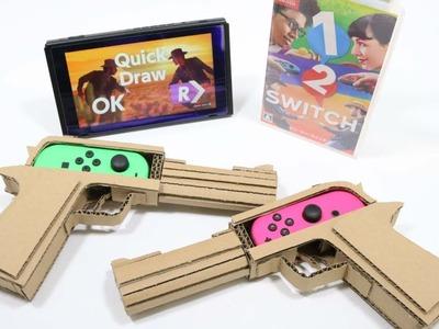 【DIY】 1-2-SWITCH  NintendoLabo!?      1-2-スイッチで、任天堂ラボ!?
