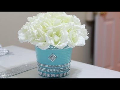DIY Dollar Tree Home Decor 2018|Centerpiece Ideas
