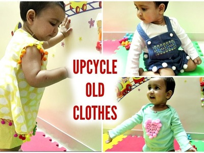DIY UPCYCLE BABY OLD CLOTHES | Redesign