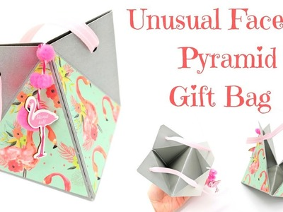 Faceted Pyramid Gift Bag | Video Tutorial