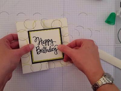Five Fun Card Folds Video Tutorial