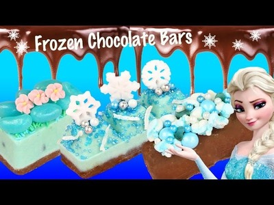 Frozen Elsa CHOCOLATE CANDY BAR FrozenFever How-To Maker JellyBeans Marshmallows Toys