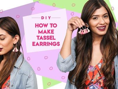 HOW TO: DIY Tassel Earrings