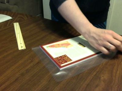 How to Laminate a Book Cover