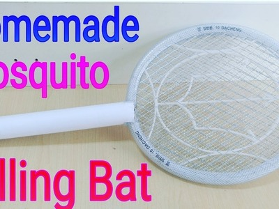 How to make a mosquito killer bat (at home)