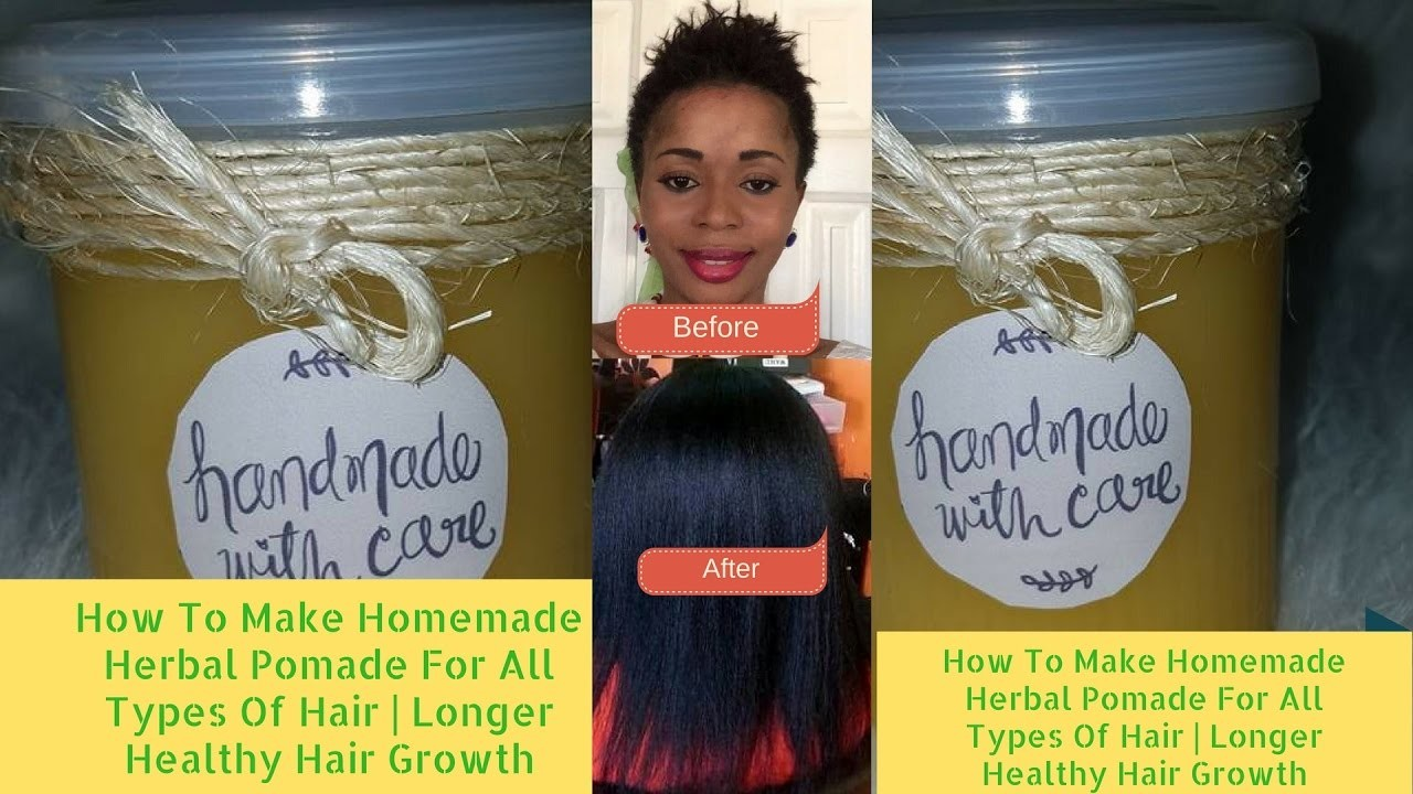 How To Make Hair Growth Pomade For Thick Healthy Long Hair