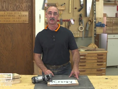 How to use a Trim Router and Bits