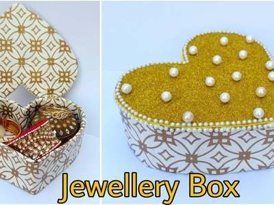 Jewellery Box from Cardboard - Heart Shape Box -  The Blue Sea Art