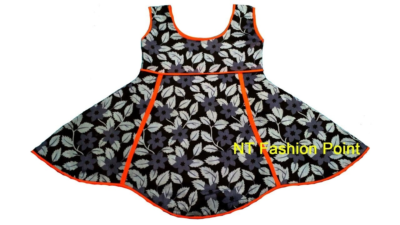 2de012ad9190 Kid s summer simple cotton frock designs easy to make at home