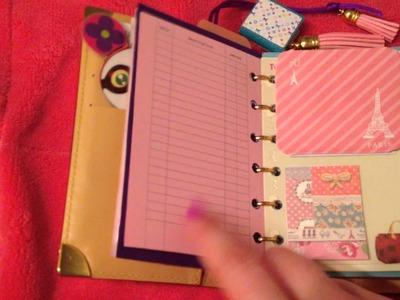 Louis Vuitton agenda pm and love my agenda inserts run through
