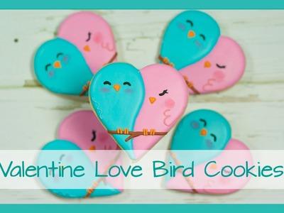 Love Bird Cookies - Easy Valentine Cookies