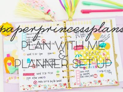Plan With Me #2 & Planner Set-Up in my Kikki.K!