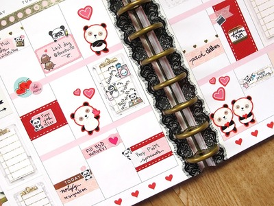 Plan With Me - NO Etsy Kit ft. Stick With Me Shop  | The Happy Planner 2017