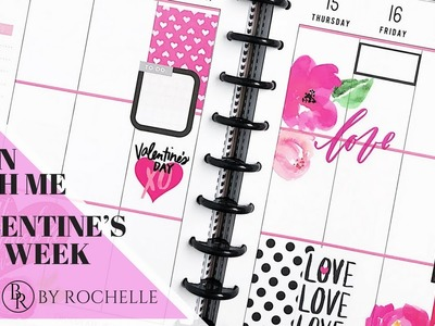 Plan with Me: Valentine's Week | Plans by Rochelle