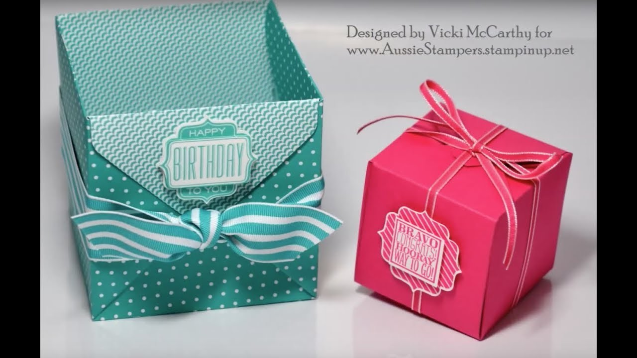 The NEW Gift Box Punch Board from Stampin' Up!