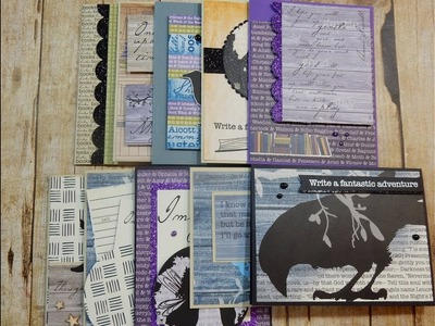 10 Cards 1 Kit and Unboxing | Finders Keepers | Libris Schmibris Kit