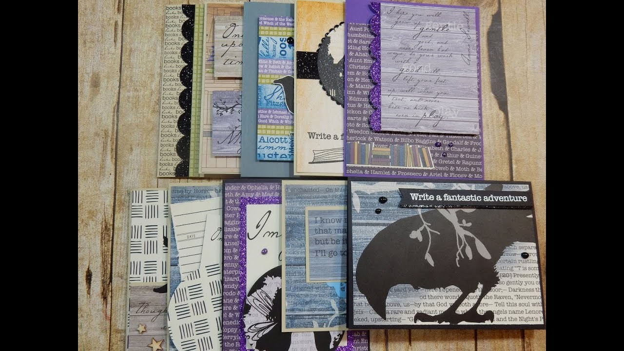 10 Cards 1 Kit and Unboxing   Finders Keepers   Libris Schmibris Kit